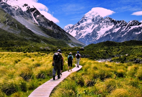Mt Cook boardwalks RTAR