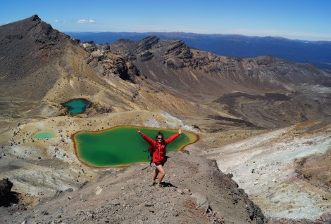 Women's Adventures Emerald Lake Tongariro