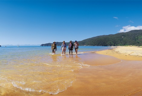Great Walks Beautiful beach, Abel Tasman
